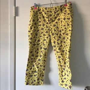 Anthropologie Cartonnier Capri Size 4 floral
